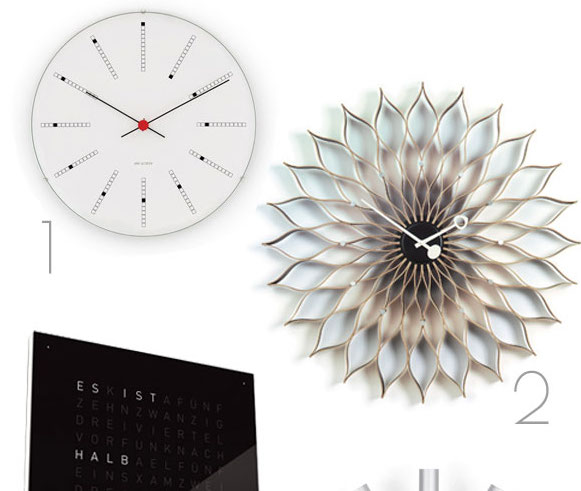 Style: Uhrensammlung