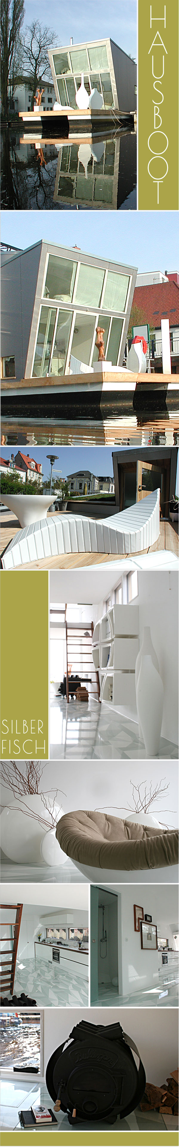 InnenAnsichten: Designer Hausboot - SILBERFISCH