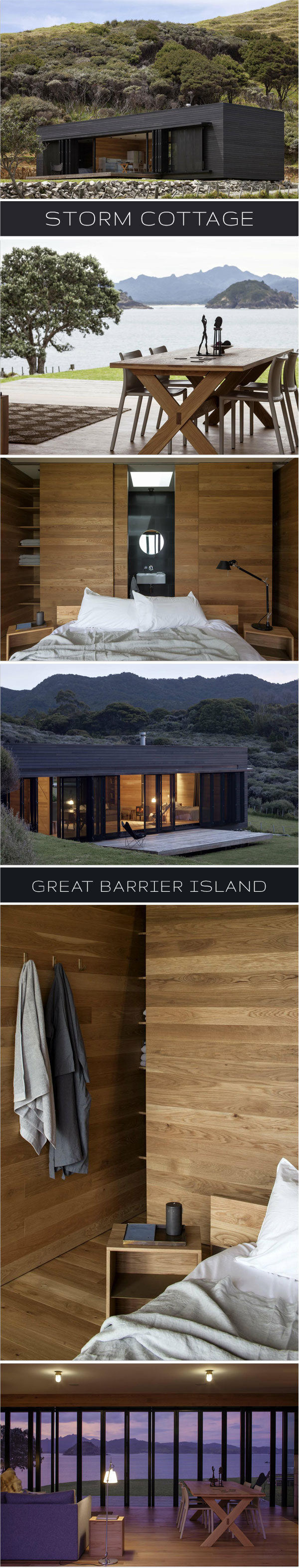 InnenAnsichten: STORM COTTAGE | Great Barrier Island