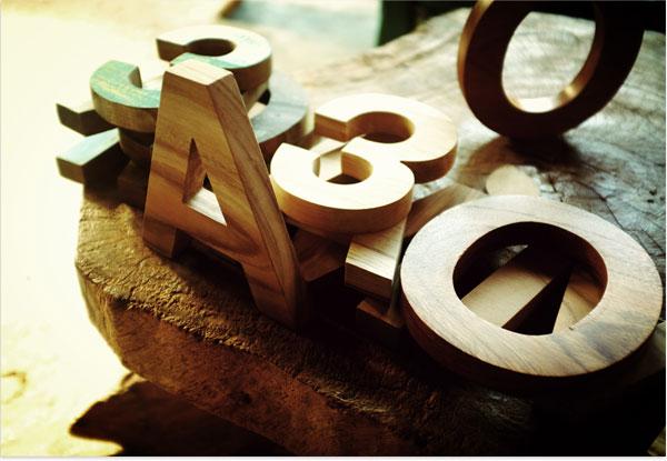 Style: Mr. Cup und das Helvetica Alphabet
