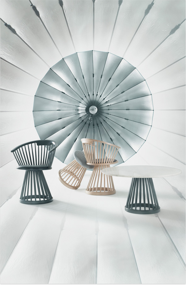 Style: FAN Chair von Tom Dixon