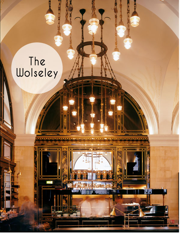 Afternoon Tea im The Wolseley