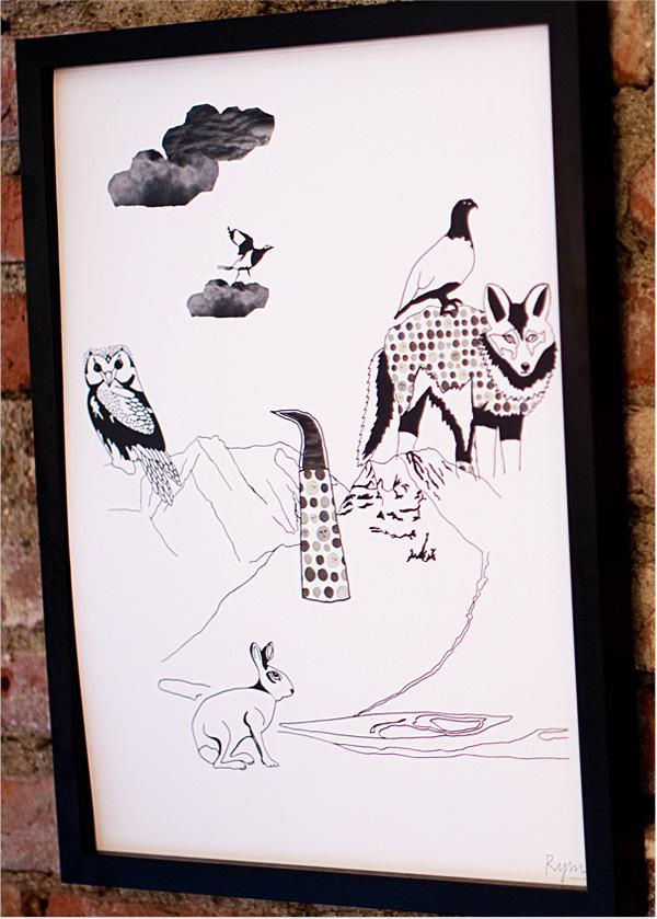 illustration von anna backlund. Black Bedroom Furniture Sets. Home Design Ideas