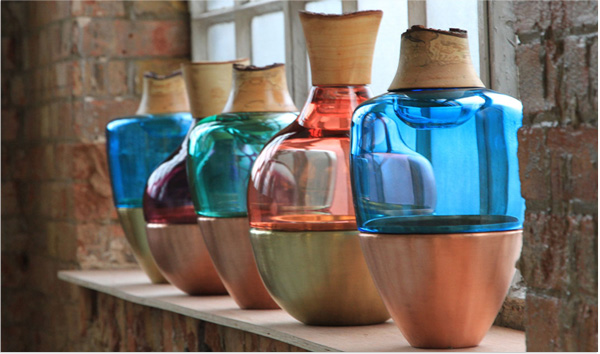 Pia Wüstenbergs schöne Glasgefäße