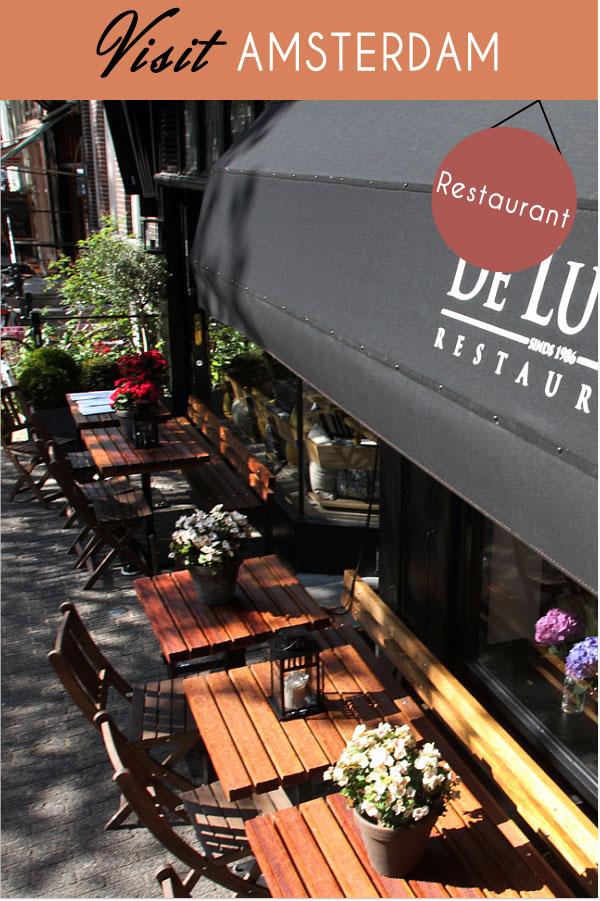Das 'De Luwte' Restaurant in Amsterdam
