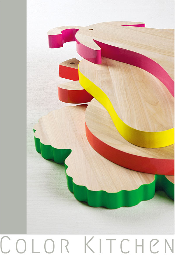 Alessandra Baldereschis Vege_Table - Farbe für die Küche