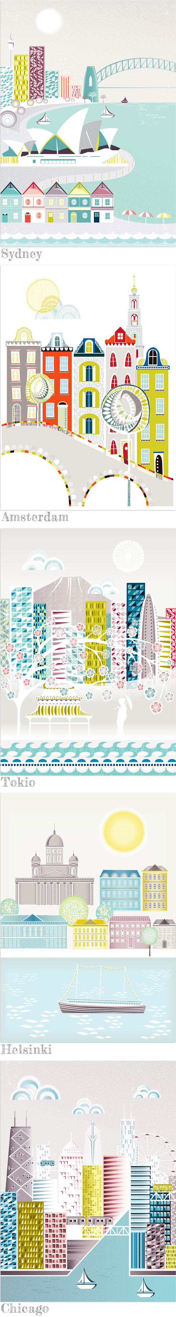 Laura Amiss Illustrationen