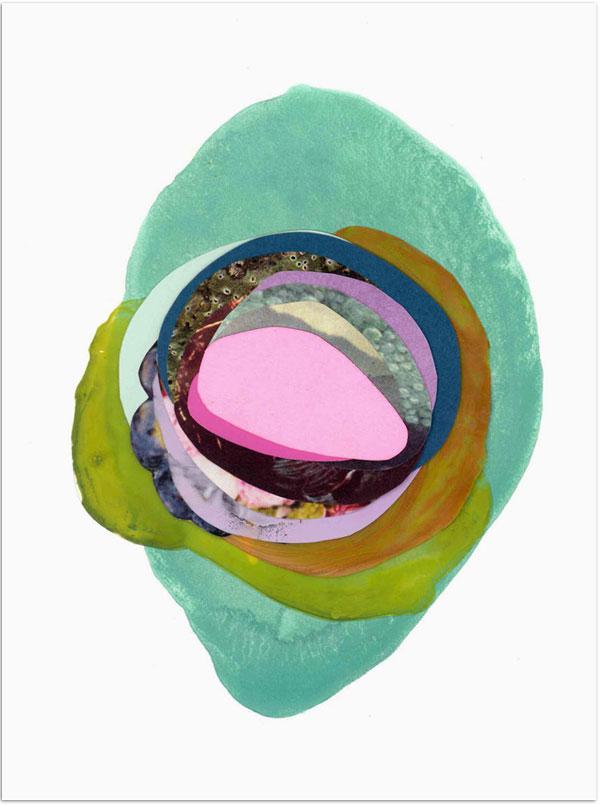 Mixed Media von der Künstlerin Xochi Solis