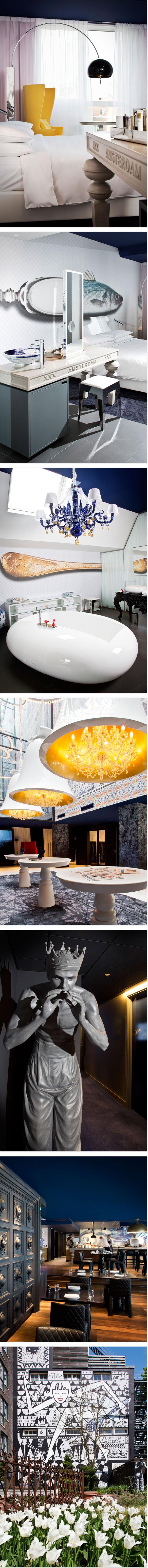Das Hotel Andaz - Design in Amsterdam