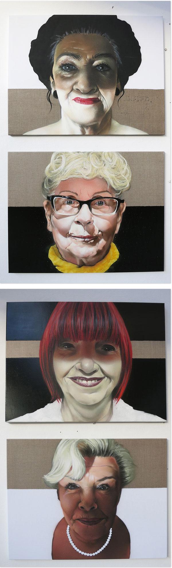 In-Your-Face 2014 |  Kunstausstellung in Augsburg