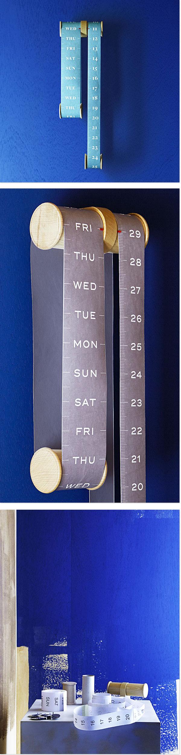 Roll - Kalender von Sovrappensiero
