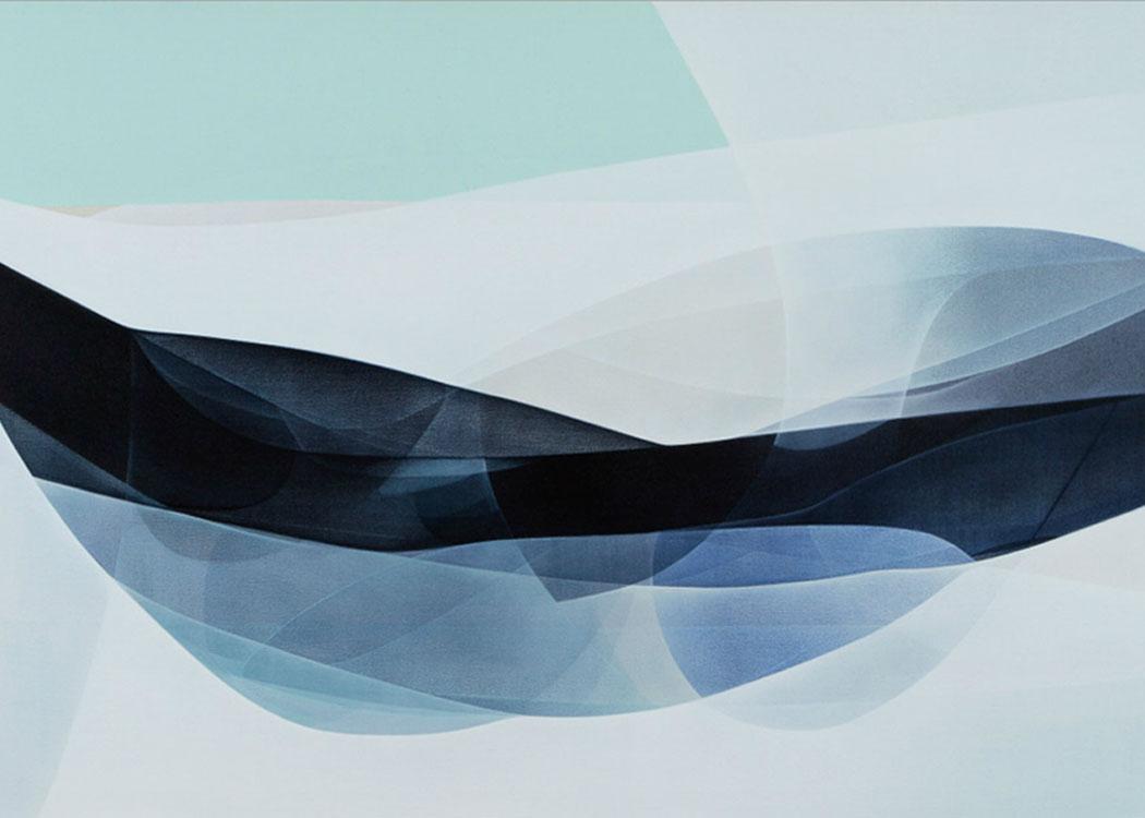 Schicht für Schicht - Künstlerin Agneta Ekholm