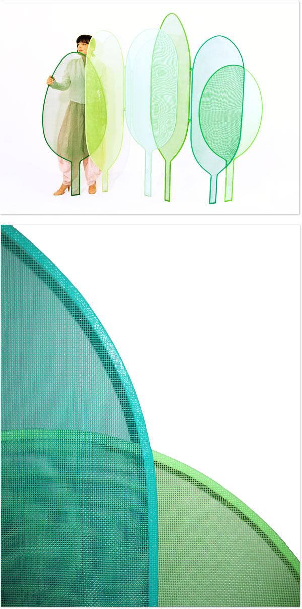 woodland von seletti ein paravent der designerin alessandra baldereschi. Black Bedroom Furniture Sets. Home Design Ideas