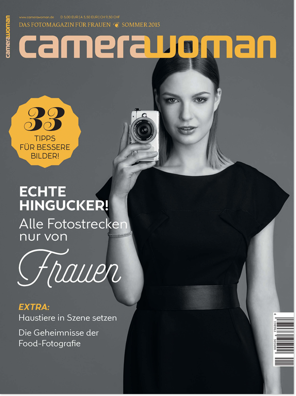 camerawoman - Das erste Fotomagazin für Frauen