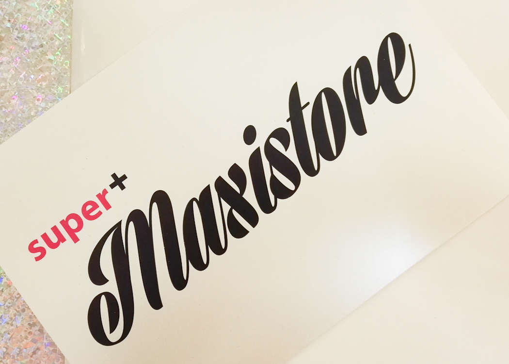 Die Pop-Up Maxistore Eröffnung by super+