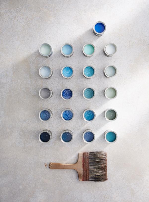 Little Greene's neue Tapeten und zauberhafte Blautöne
