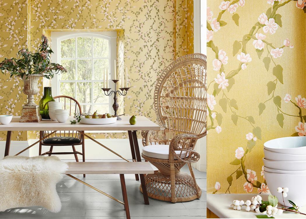 little greene 39 s neue tapeten und zauberhafte blaut ne dhno 9. Black Bedroom Furniture Sets. Home Design Ideas
