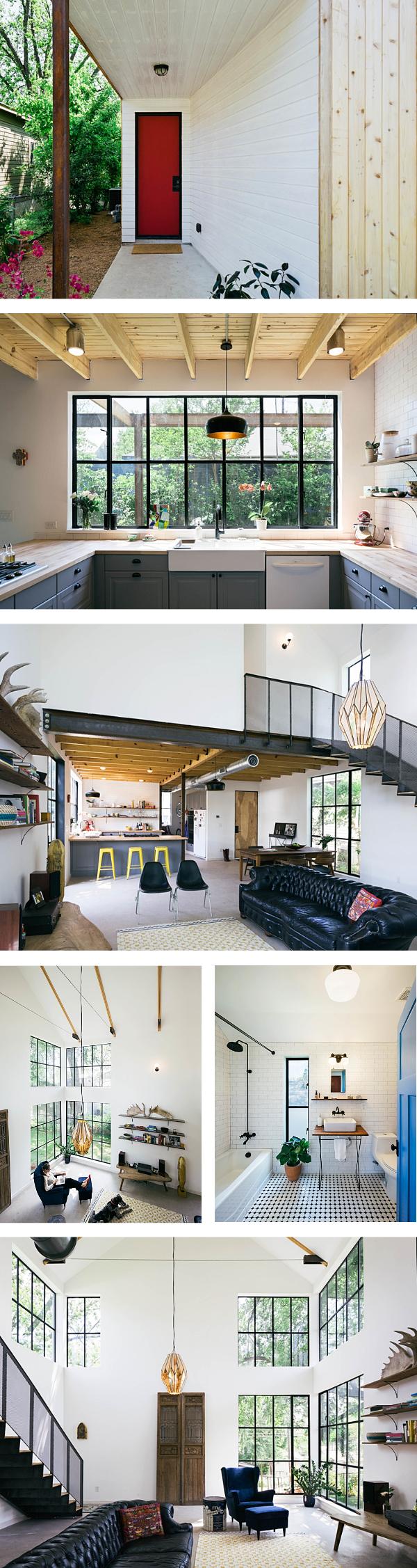 Traumhaftes Holzhaus in Austin, Texas