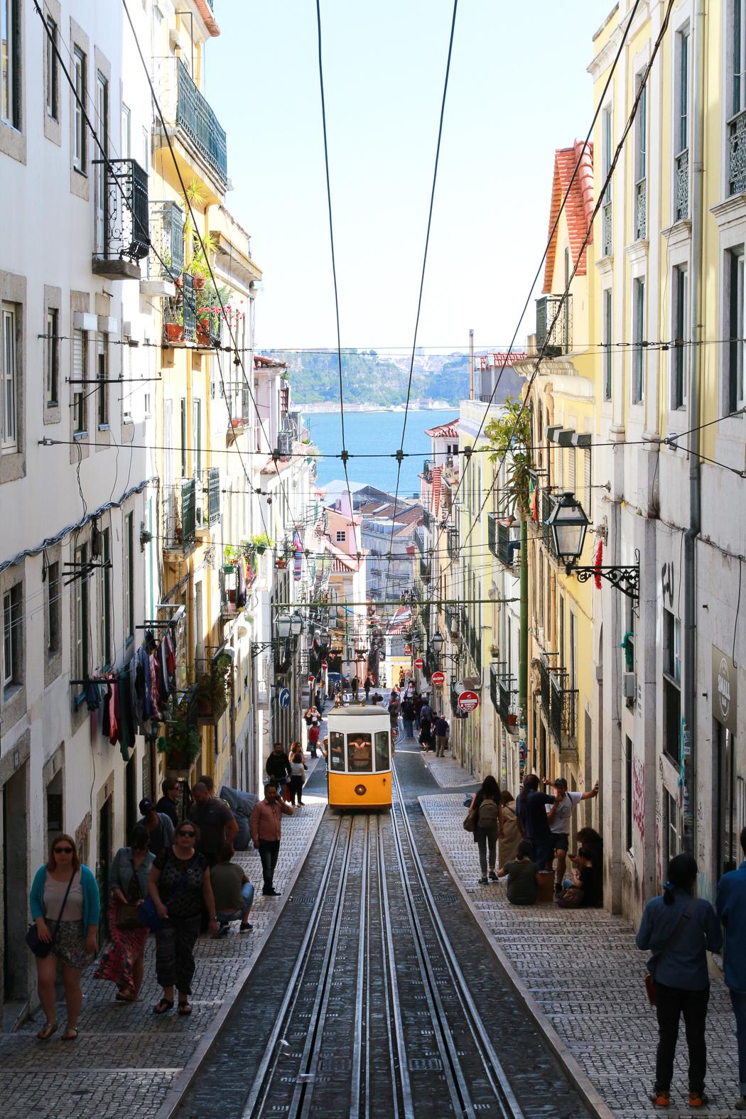 Wohin verreisen? Also ich war in Lissabon