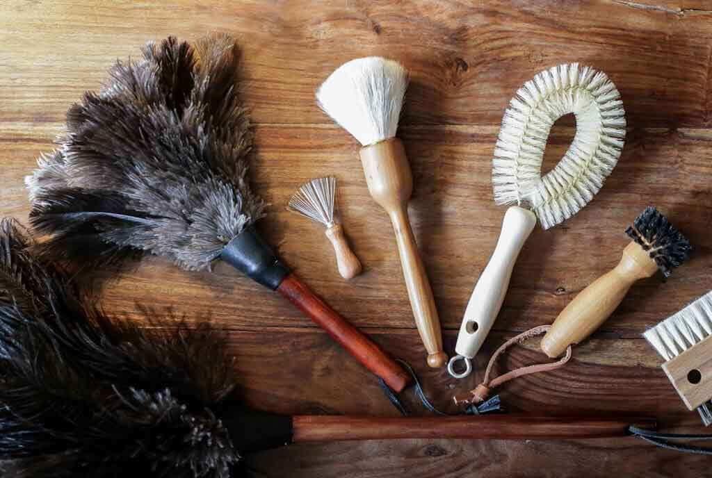 Mein Tipp: Schöne und nachhaltige Bürsten & Staubwedel